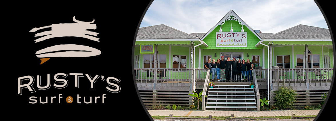 Rusty's Surf & Turf Restaurant on Hatteras Island