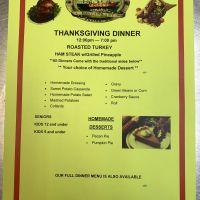 Diamond Shoals Restaurant, Thanksgiving Day Dinner this Thursday