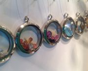 Seaside Memory Lockets - Blue Pelican Gallery Gifts and Yarn