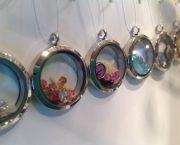 Seaside Memory Lockets - Blue Pelican Gallery Gifts and Yarn