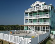 Private Heated Pool - Hatteras Realty