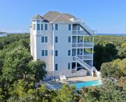 Stunning Soundfront Home With Private Dock - Hatteras Realty