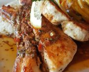 Pan Seared Wahoo - Rusty's Surf and Turf Restaurant on Hatteras Island
