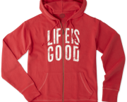 Life Is Good Go-To Zip Hoodie - Kitty Hawk Kites