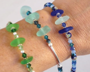 Sea Glass Bracelet - Studio 12