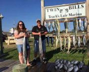Stroll the Docks - Teach's Lair Marina at Hatteras Landing