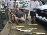 Calypso Sportfishing Charters, May 3rd -Old friends on Board