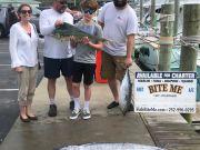 Bite Me Sportfishing Charters, Wahoos love lightening!