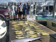 Bite Me Sportfishing Charters, Big wahoo and a mess of dolphins