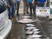 Bite Me Sportfishing Charters, Tuna, AJ's King mack on the jig