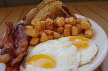 Atlantic Coast Café Hatteras Island, Hearty Breakfast Plate