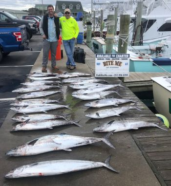 Bite Me Sportfishing Charters, Live bait action continues