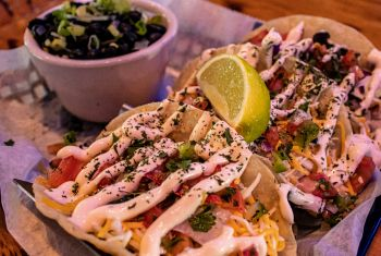 Neptune's Kitchen & Dive Bar, Fish Tacos