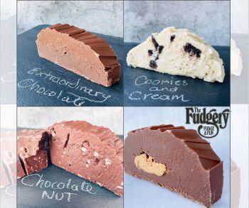 Four Slices of Fudge