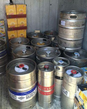 Breeze Thru Avon, Keg Beers