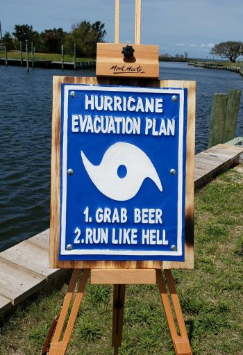 Scotch Bonnet Fudge & Gifts, Hurricane Evacuation Plan