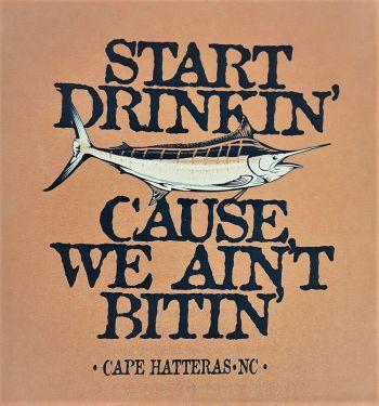 Scotch Bonnet Fudge & Gifts, Start Drinkin Marlin Tee