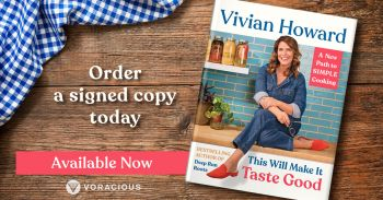 Buxton Village Books, This Will Make It Taste Good by Vivian Howards