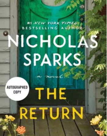Buxton Village Books, SIGNED Copies of Nicholas Sparks' New Book