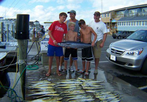 Reliance Hatteras Fishing Charters, 3/4 Day Inshore Charter Fishing