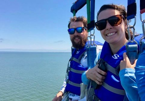 Hatteras Parasail, See Hatteras from the sky