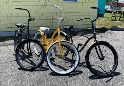 Island Cycles & Sports, Beach Cruiser Rentals