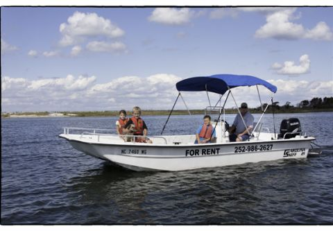Hatteras Parasail, Rent a boat and sail the Pamlico Sound