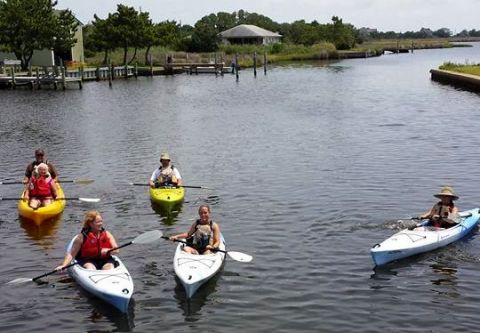 Slash Creek Outfitters, Casual Family Kayak Tour