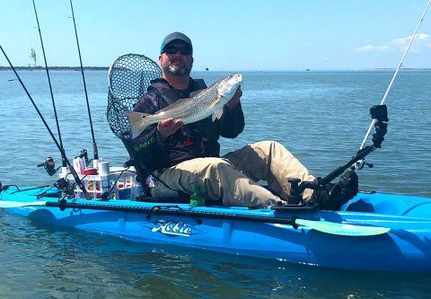 Kinnakeet Guide Service, Full-Day Inshore Guided Kayak Fishing