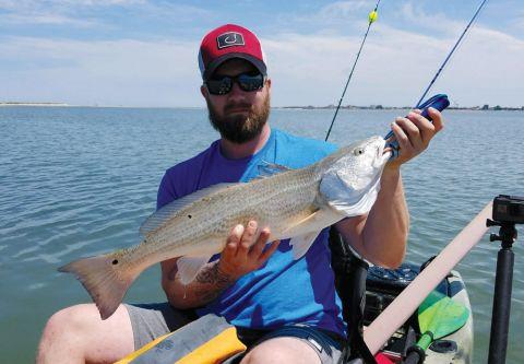 Kinnakeet Guide Service, Offshore Guided Kayak Fishing