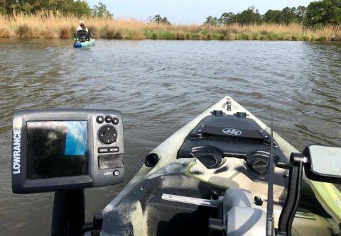Kinnakeet Guide Service, Half-Day Inshore Guided Kayak Fishing