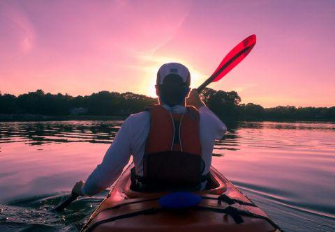Slash Creek Outfitters, Sunset Kayak Tour