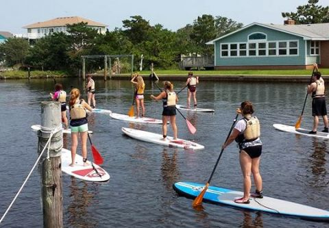 Slash Creek Outfitters, SUP Tours