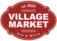 Village Market Red & White