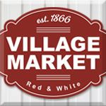 Village Market Red & White